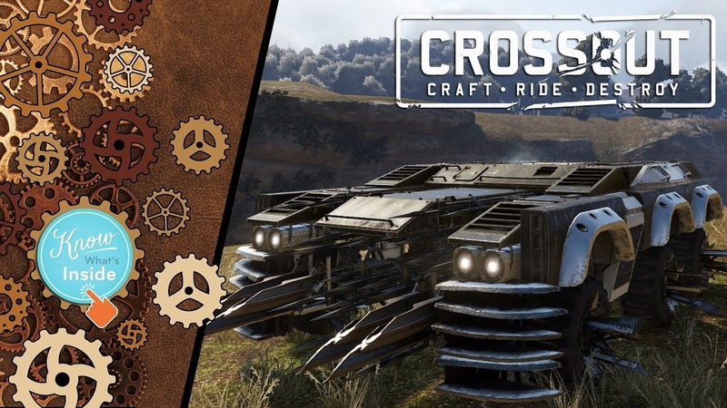 Crossout: Assembling car 108 - gob_cat_v4 [ver. 0.9.135]