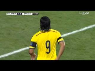Radamel Falcao Goal Canceled - Canada vs Colombia (Friendly Match) 2014