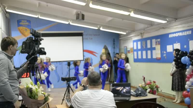 Выступление младшей группы отделения чирспорт МАУ СШОР КВАНТ