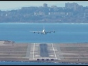 Airbus A380 landing at Nice Côte d'Azur Airport