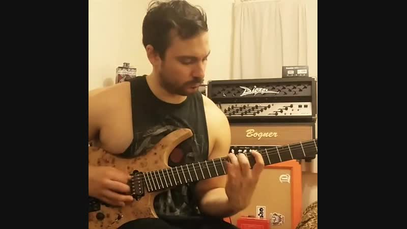 Christian Colabelli shredding his ass off with his Lick of Death 133