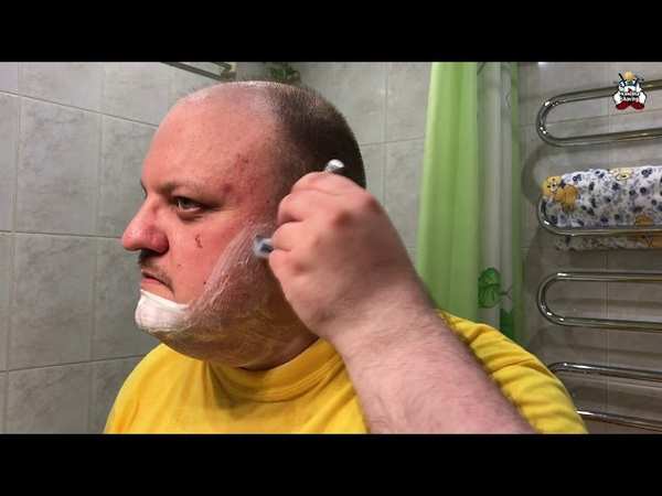 Misha Moscow Shave Михаил Гынин homelike, бритьё