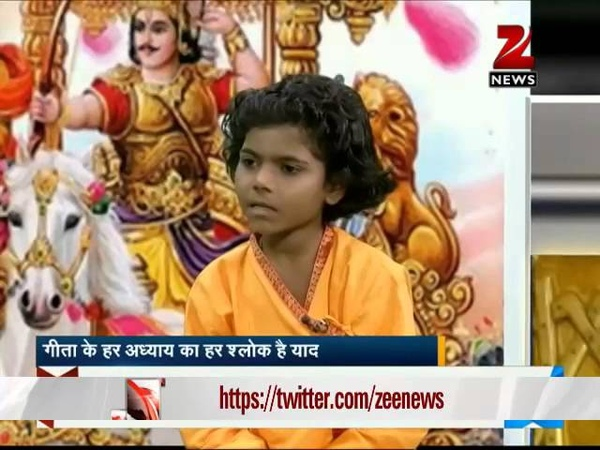 Meet 7-year-old Sonam Patel who knows Bhagavad Gita by heart