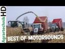 SCHLAMMSCHLACHT im Mais Best of MOTORSOUND Traktoren Lohnunternehmen am Limit