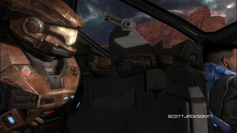 Halo Reach Music Video - Sick Puppies Youre Going Down