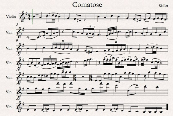игра на пианино ноты легкие и красивые