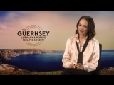 Associated Press Jessica Brown Findlay 'I write letters all the time'