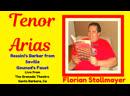 Rossinis Barber from Seville Gounods Faust (Santa Barbara June 30, 2019) by Florian Stollmayer Tenor