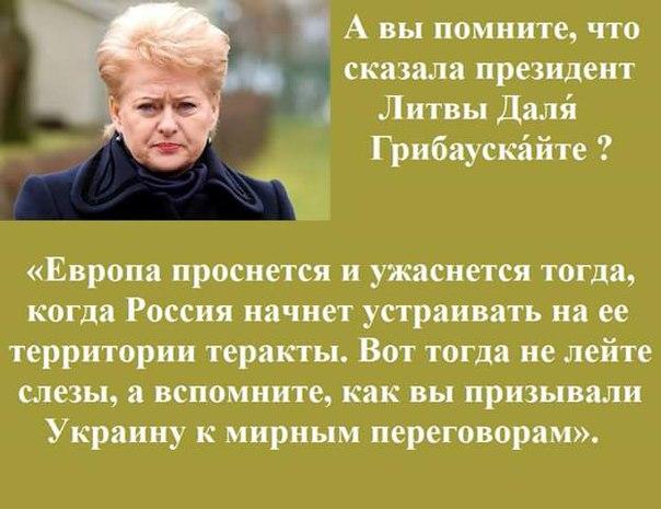 ЕС должен расширять давление на Россию, - глава МИД Литвы Линкявичюс - Цензор.НЕТ 6812