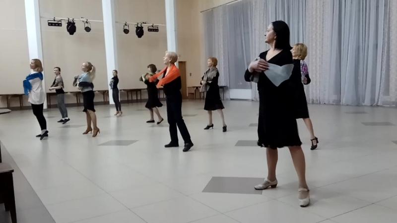 Вальс Синий платочек Репетиция