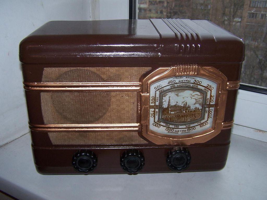 Какие были марки радиоприёмников в СССР?