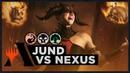 Jund vs Nexus Ravnica Allegiance Standard Deck MTG Arena