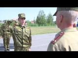 Как живут кадеты в Минском областном училище