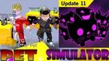 ПИТОМЦЫ Черная материя ПЭТ Симулятор питомца обновление Dark Matter Pets Pet Simulator Roblox