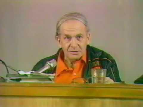 Автор ТРИЗ говорит о будущем теории Г С Альтшуллер на съезде МА ТРИЗ в 1991 году