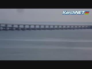 Керчь, что происходит сейчас у Крымского моста [Рифмы и Панчи]