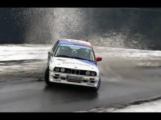 Niki Glisic, BWM M3 E30 - Jänner Rallye 2013 [HD]