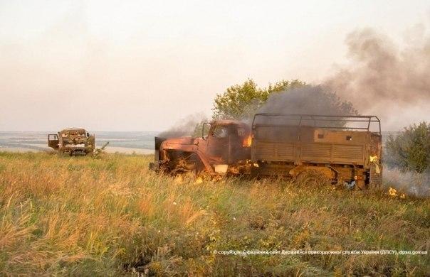Ночью авиация сил АТО совершила несколько боевых вылетов: уничтожены БТР и 3 грузовика с боевиками - Цензор.НЕТ 8683