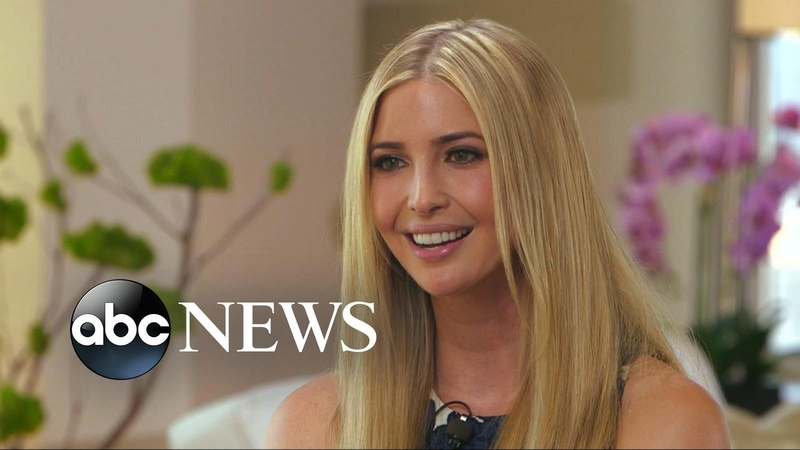 Ivanka Trump Defends Father Donald Trump Says 'He Speaks From the Heart'
