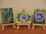 Come dipingere fiori in modo facile peonia, rosa, calla. One stroke