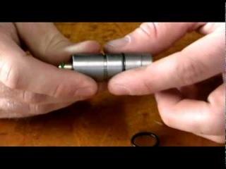 exchage of pressure regulator Anschutz air rifle 9003
