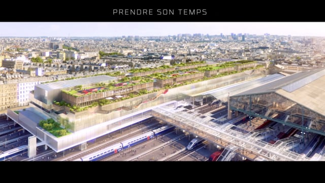 Gare du Nord Transformation Project by Valode Pistre