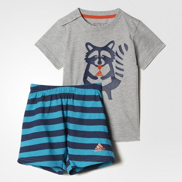 Комплект: футболка и шорты Summer Fun
