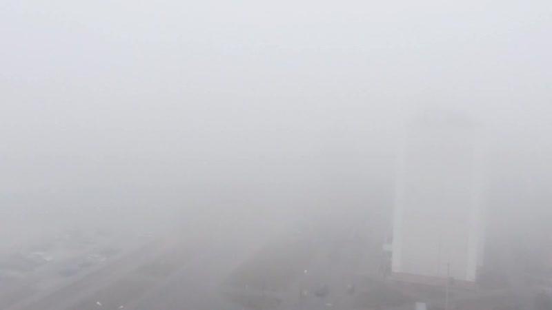 Туман. Слегка