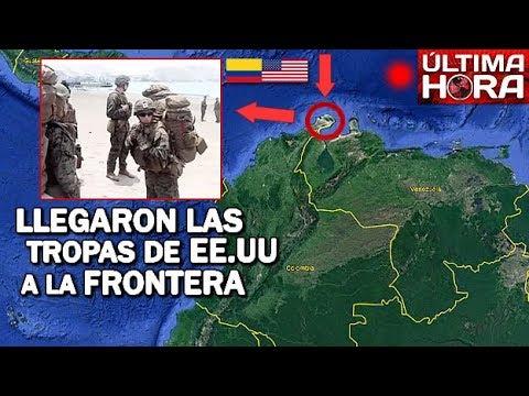 EE.UU Y COLOMBIA ESPERÁN LA ORDEN PARA INTERVENIR VENEZUELA
