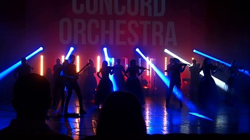 Сoncord orchestra (Steve Vai Liberty). 2018. Sochi