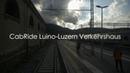 CabRide Luino - Luzern Verkehrshaus Re 4/4 - Gotthard Bahn