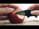 Нарезка яблока ножом - кредиткой CardSharp2