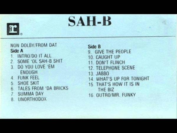 Sah B Do You Love Em Enough
