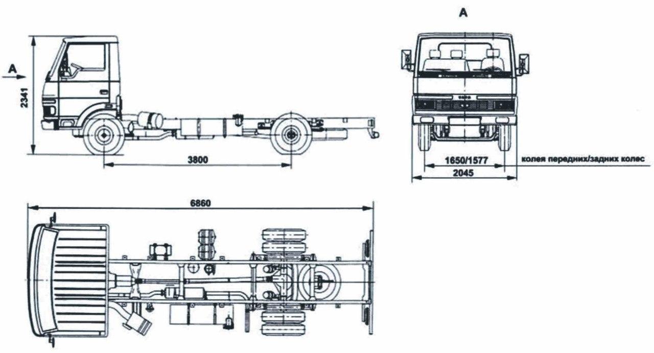 TATA LPT-613 - технические характеристики