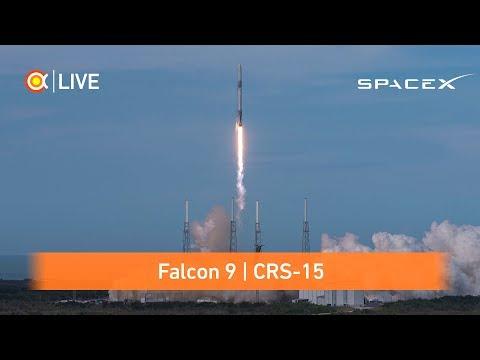 Трансляция пуска Falcon 9 (CRS-15)