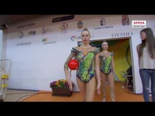 Сборная команда России ГУ - 3 мяча + 2 скакалки Q 21.125