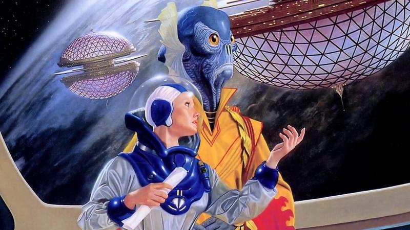 Инопланетные миры. Красивые фантастические миры