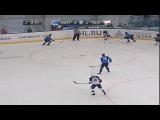 khl Нефтехимик - Слован (2012.10) Сейв. Янус (Слован) спасает команду при игре в большинстве, когда игрок Нефтехимика вышел один в ноль