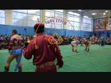 Турнир по национальной борьбе хуреш на призы Дзун-Хемчикского кожууна