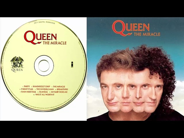 Queen The Miracle 1989 Full Album