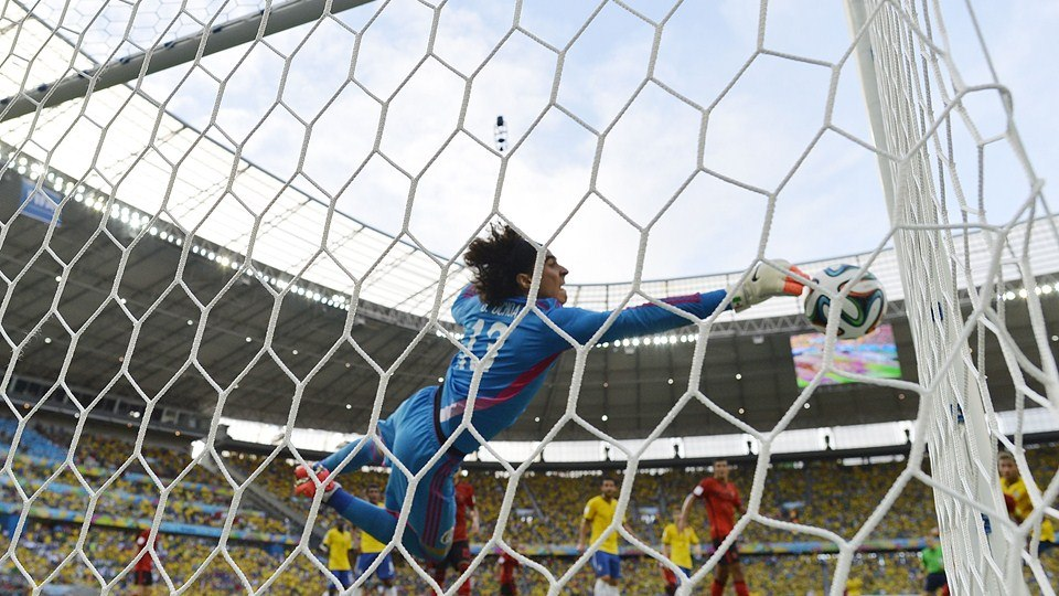 ЧМ-2014. Бразилия - Мексика 0:0