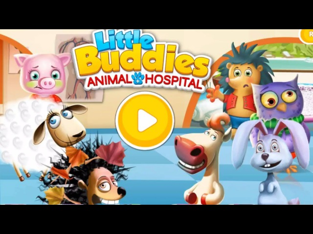 Little Buddies Animal Hospital 2 - Play animal doctor and take care of Them. Game For Children