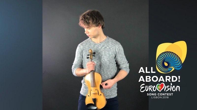Alexander Rybak Eurovision 2018 Violin Jam Part 2