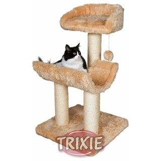 Домик когтеточка для кошки обит плюшем с длинным ворсом.  Домик для кошки оборудован мягкими платформами и...