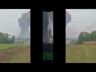 На видео мощнейший взрыв на фабрике фейерверков в турецкой провинции Сакарья
