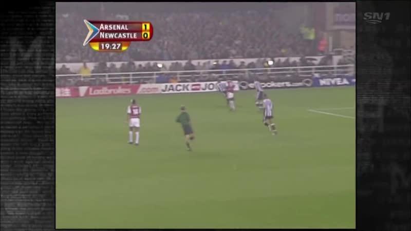 Арсенал Ньюкасл 1т 2003-04