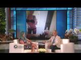 Хилари Дафф дает интервью в The Ellen Show