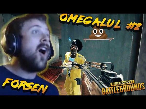 FORSEN OMEGALUL 2 best stream sniper moments highlights (playerunknown's battlegrounds pubg)