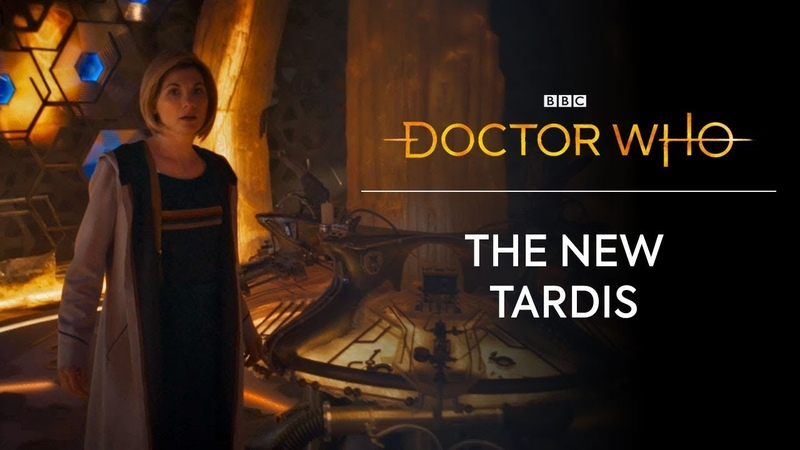 The New TARDIS Doctor Who Series 11