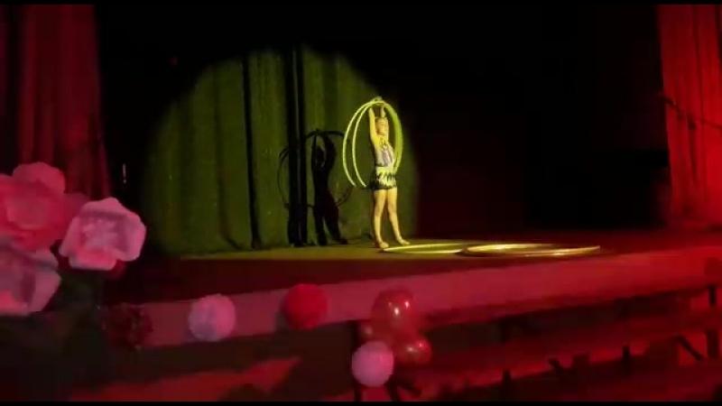 Выступление Ангелины на Гала концерте городских оздоровительных лагерей г.о. Люберцы